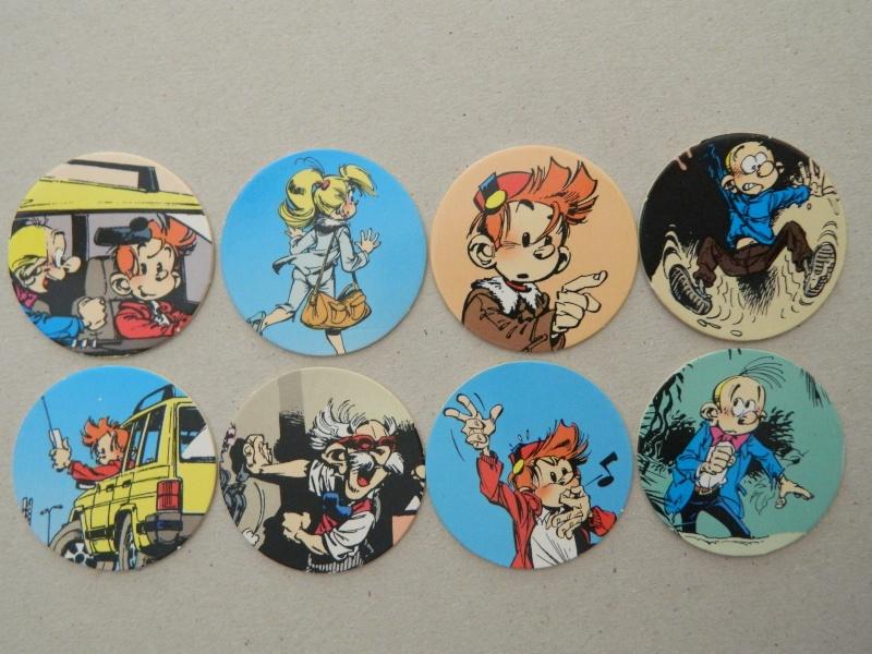 La Petite Collection d'objets du P'tit Spirou, de Spirou et de Marsupilami Dscn7640