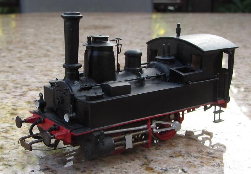 Meine letzte H0-Lok, die VII T und noch zwei Kleine als Zugabe 7t-0110
