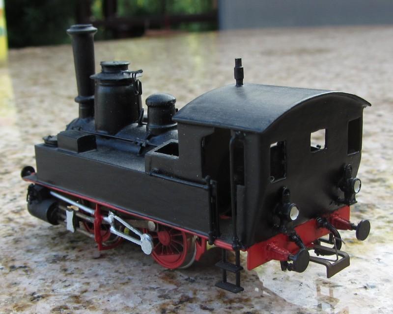 Meine letzte H0-Lok, die VII T und noch zwei Kleine als Zugabe 7t-0210