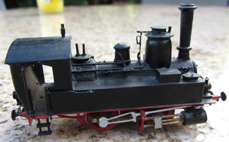 Meine letzte H0-Lok, die VII T und noch zwei Kleine als Zugabe 7t-0310