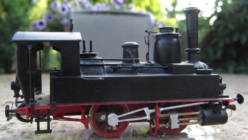 Meine letzte H0-Lok, die VII T und noch zwei Kleine als Zugabe 7t-0410