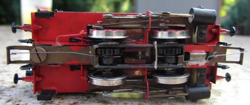 Meine letzte H0-Lok, die VII T und noch zwei Kleine als Zugabe 7t-0510