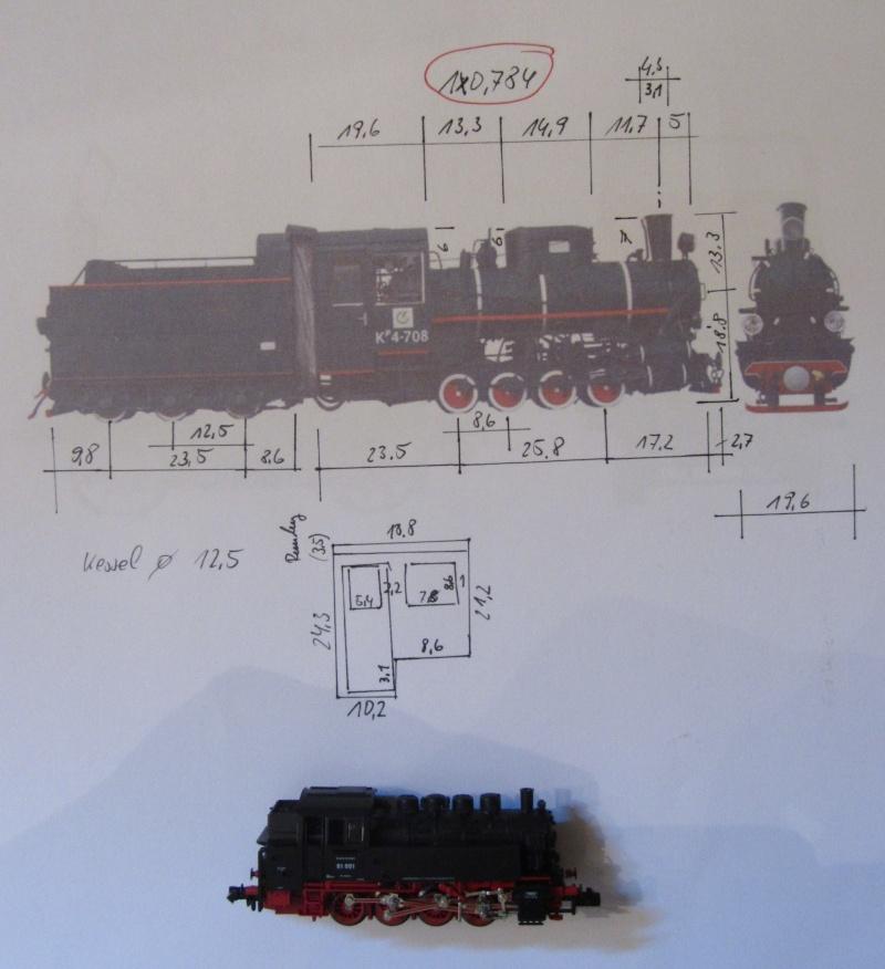 Kp4 der LG in H0e (Littauische Staatsbahn) Kp4-0110