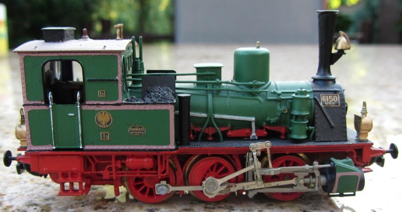 Meine letzte H0-Lok, die VII T und noch zwei Kleine als Zugabe T3-0110