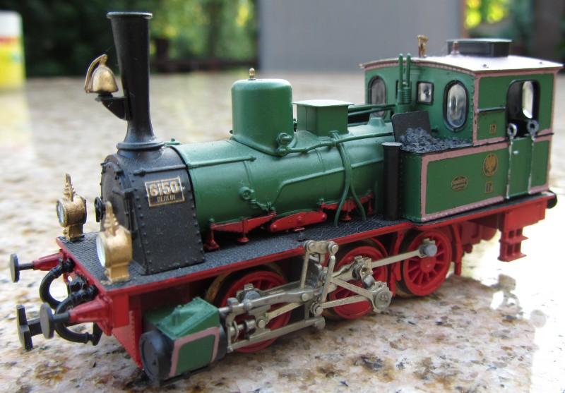 Meine letzte H0-Lok, die VII T und noch zwei Kleine als Zugabe T3-0210