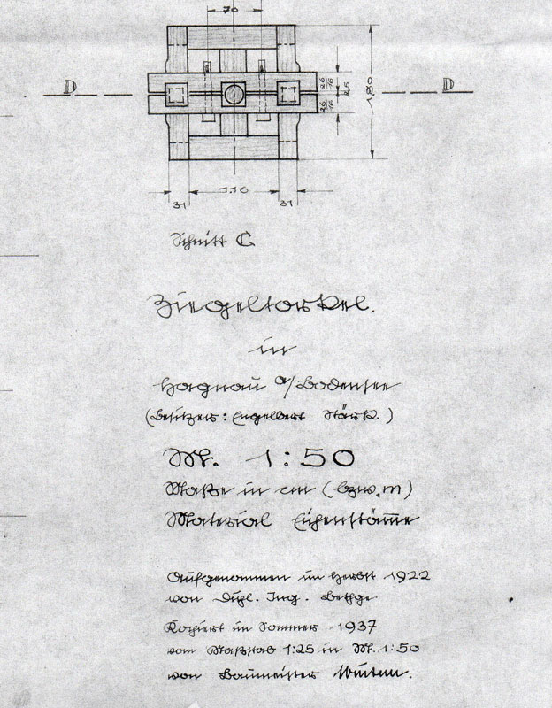 Weinpresse aus dem 16. Jahrhundert - mein erster Planungsversuch  Spinde11