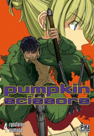 [ANIME/MANGA] Pumpkin Scissors  Couv_111