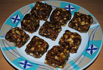 DRY FRUITS BURFI A10