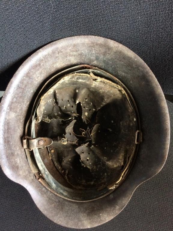 suite de mes trouvailles de grenier casque SS 2018-023