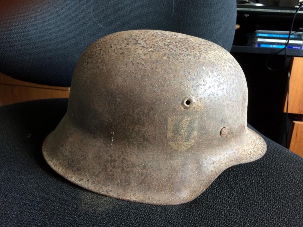 suite de mes trouvailles de grenier casque SS Img_6110