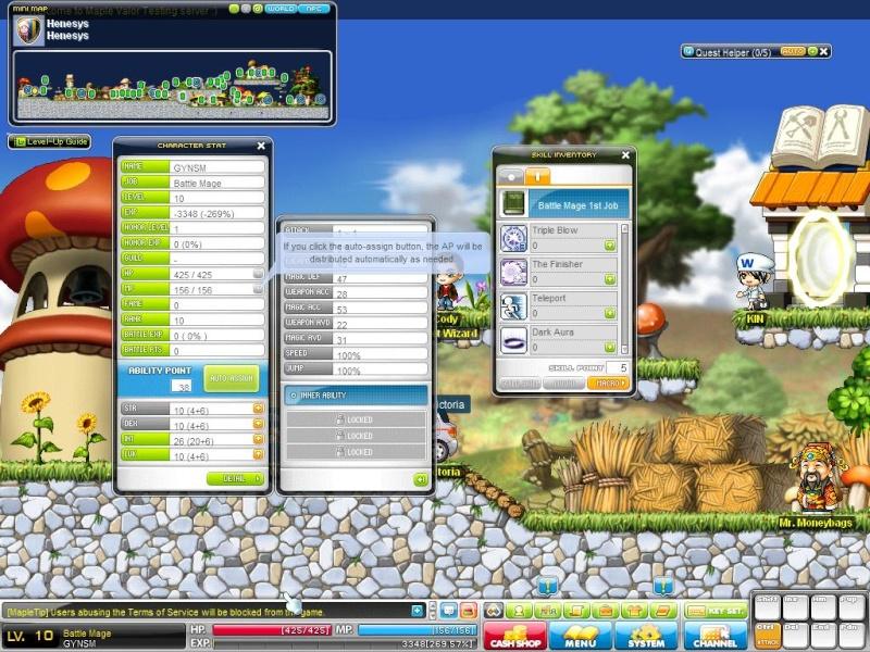 Skill Glitch Maple010