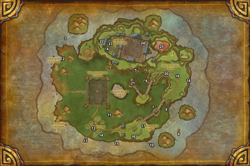 Map élites rares Map10