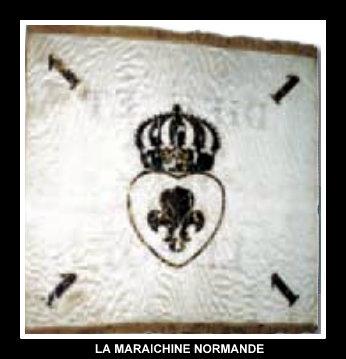 Armée catholique et royale de Normandie Drapea10