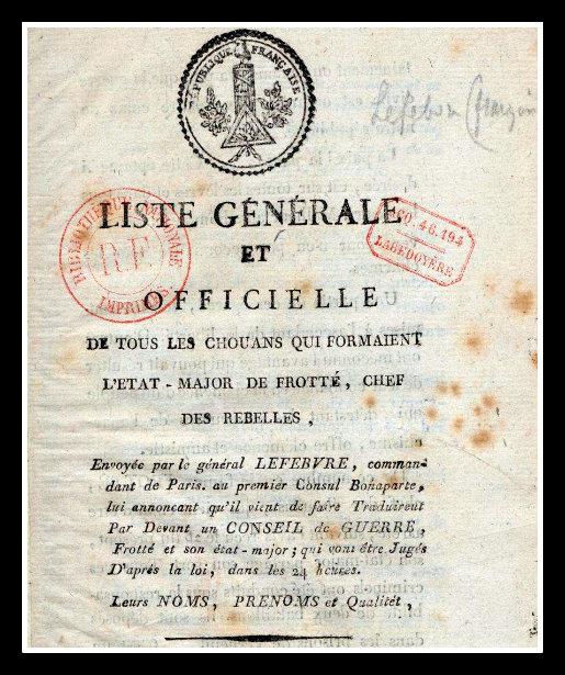 Armée catholique et royale de Normandie Liste_10