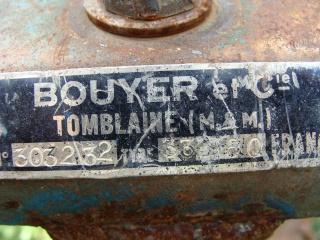 Restauration d'un Bouyer 334.60 à moteur Lombardini avec votre aide Ref_mo10