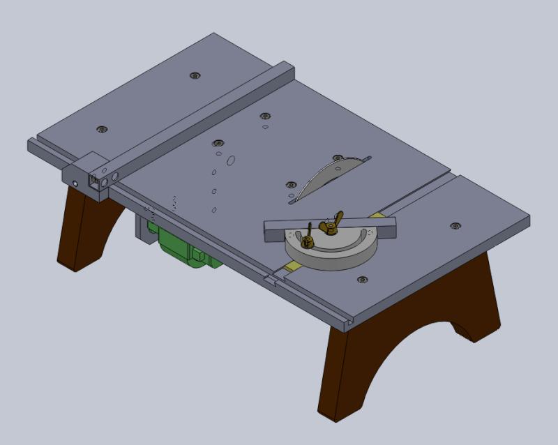 Une petite scie sous table Pcb_sa12