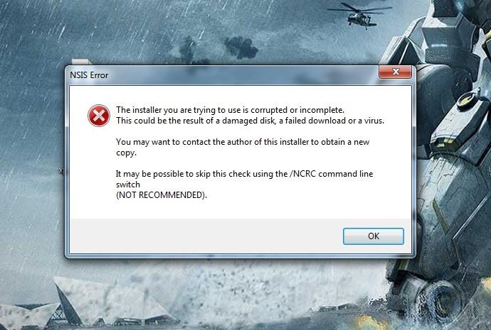 NSIS Error When Installing Game? Bab5-i10