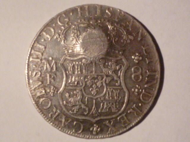 Mexico 1770-MoMF 8 Reales with counterstamp real? Mince_13