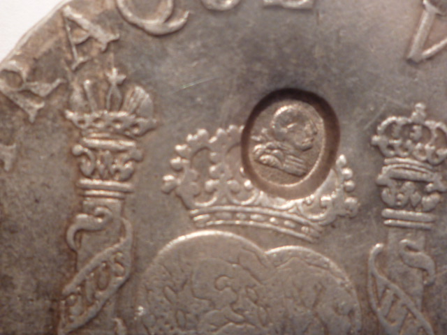 Mexico 1770-MoMF 8 Reales with counterstamp real? Mince_14