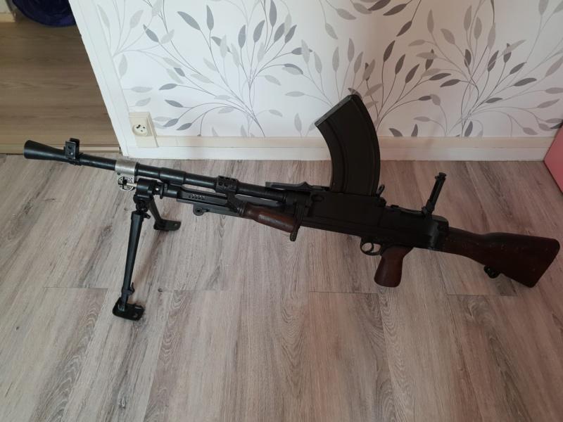 Le fusil-mitrailleur BREN MK II fabriqué au Canada par la Compagnie John Inglis 20180710