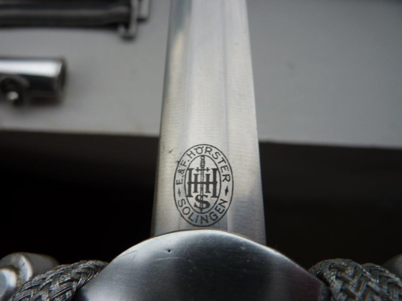 Dague des cadres de la Douane - Hörster P1210320