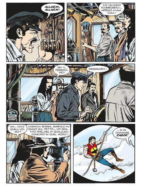 Il rapimento di Icaro La Plume (Color Zagor n°11) 15931611