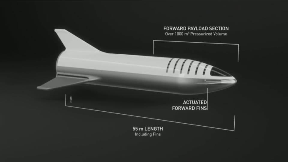 SpaceX change le design du vaisseau de la BFR 41991010