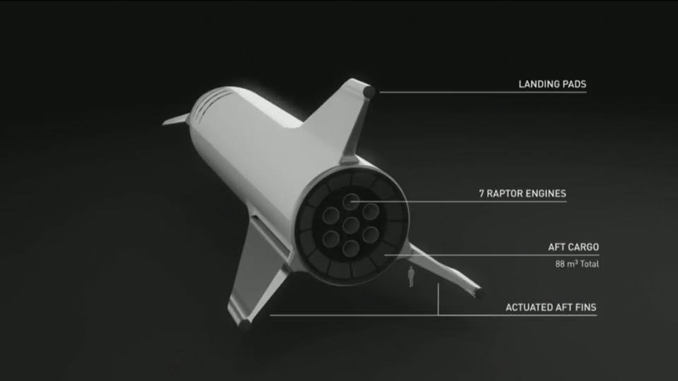 SpaceX change le design du vaisseau de la BFR 42044910