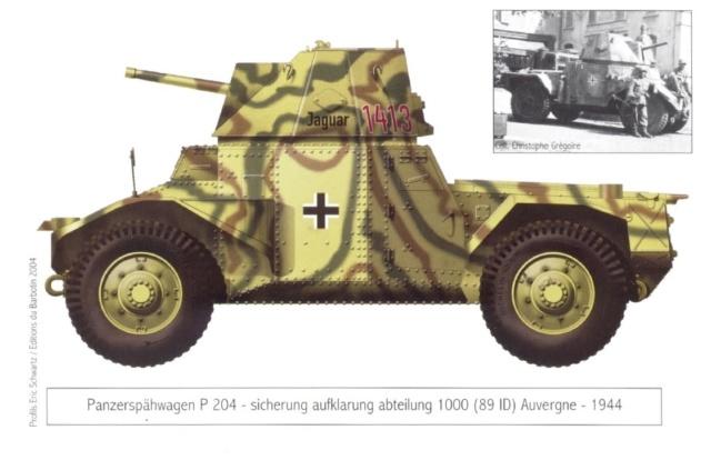 [Photos] Véhicules des troupes allemandes en Auvergne ! Panzer10