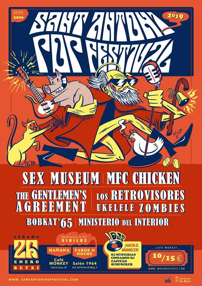 SANT ANTONI POP FESTIVAL  BETXI, CASTELLÓN 26 DE ENERO 2019 46526010