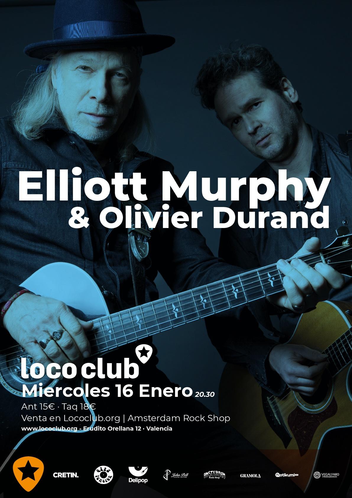 ELLIOT MURPHY Y OLIVIER DURAND LOCO CLUB 16 DE ENERO 2019 Elliot10