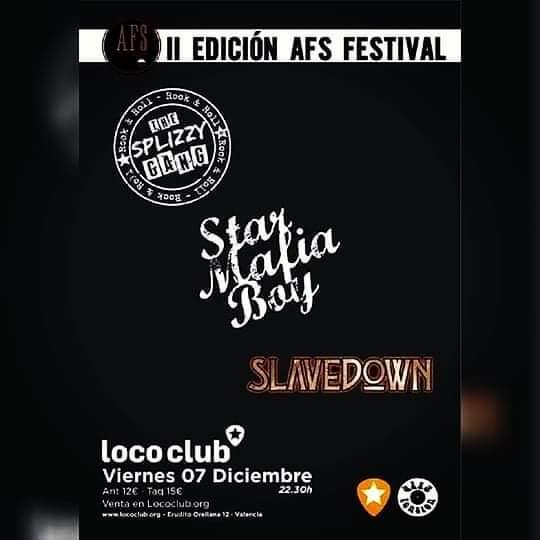 II EDICIÓN AFS FESTIVAL LOCO CLUB STAR MAFIA BOY - SPLIZZY GANG 7 DICIEMBRE  Fb_im122