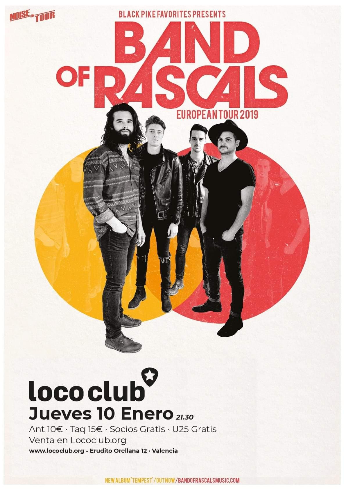 BAND OF RASCALS 10 DE ENERO 2019 LOCO CLUB  Fb_im166