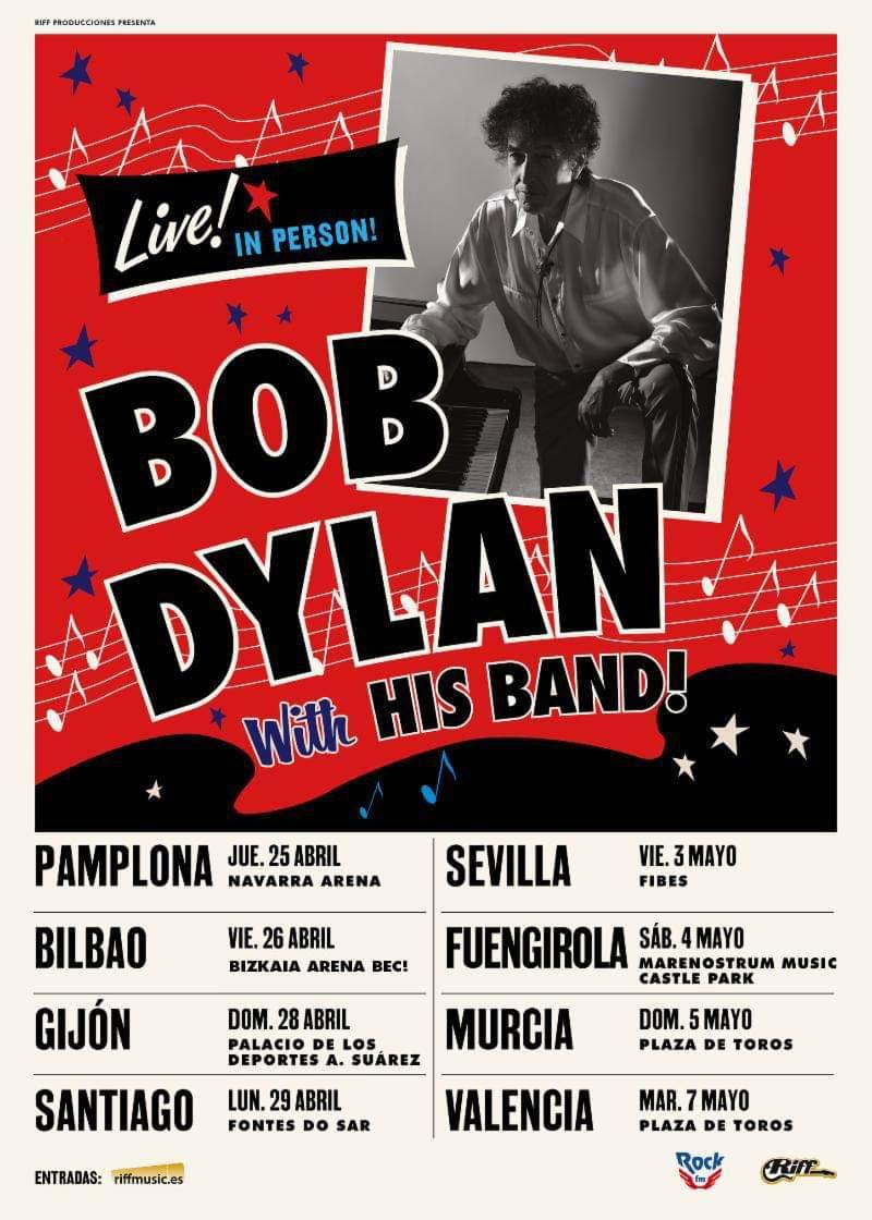 BOB DYLAN 7 MAYO 2019 PLAZA DE TOROS  Fb_im175