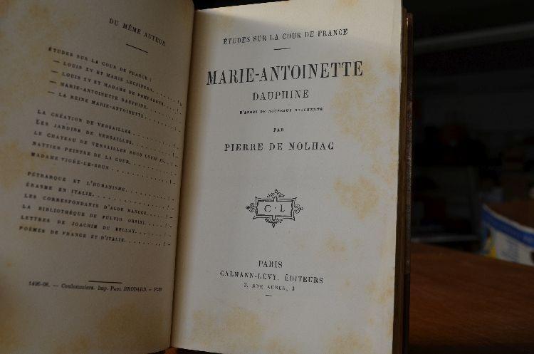 A vendre: livres sur Marie-Antoinette, ses proches et la Révolution - Page 6 30029711