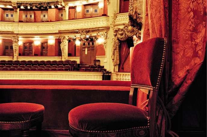L'Opéra-Comique inauguré par Marie Antoinette 56220a10