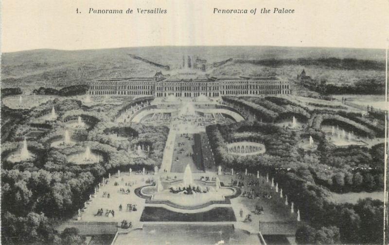Vues anciennes du Château de Versailles et de son Domaine - Page 2 Cp-pan10