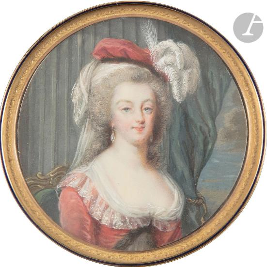 Marie-Antoinette au livre en robe bleue - Page 4 Zducz22