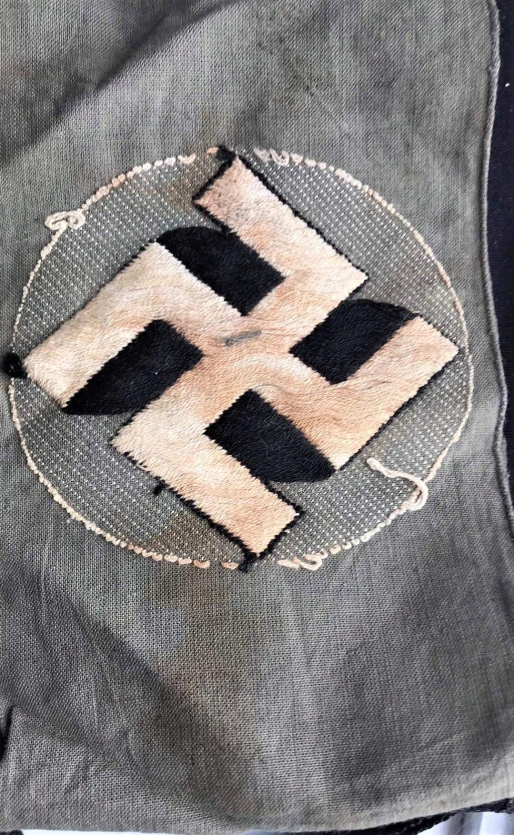 Brassard Allemand Stahlhelm 1930/33 Img_0911