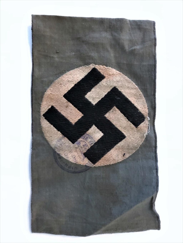 Brassard Allemand Stahlhelm 1930/33 Img_4917