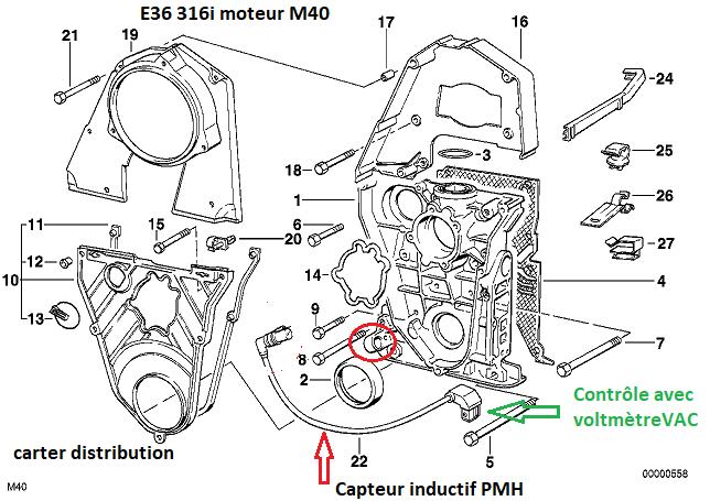 [ BMW E36 316I M40 an 1993 ] perte puissance - montée dans les tours.  11_11111