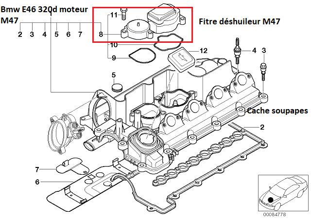 [ BMW e46 320D M47 an 1999 ] mauvaise combustion plus fumée bleu seulement au premier démarrage   11_20910