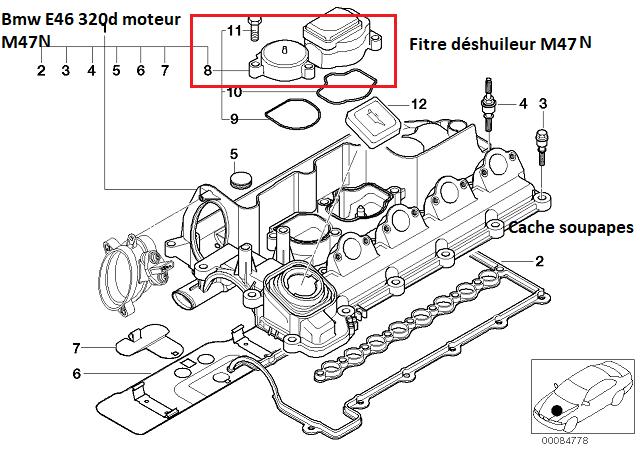 [ BMW E46 320d M47N an 2004 ] problème graisse dans LDR 11_20912