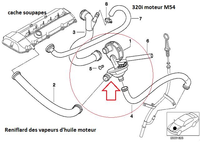 [ BMW E46 320i BVA M54 an 2002 ] Ratés à froid et ralenti instable, le retour 11_21910