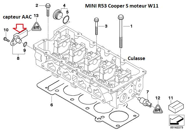 [ Mini Cooper S 1.6 ess an 2003 ] pas d'allumage après changement joint culasse 11_30812