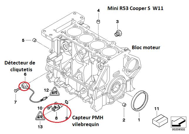 [ Mini Cooper S 1.6 ess an 2003 ] pas d'allumage après changement joint culasse 11_30813
