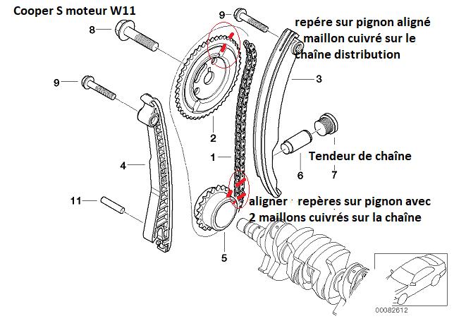 [ Mini Cooper S 1.6 ess an 2003 ] pas d'allumage après changement joint culasse 11_30911