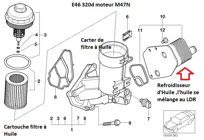 [ BMW E46 320d M47N an 2004 ] problème graisse dans LDR 11_33212