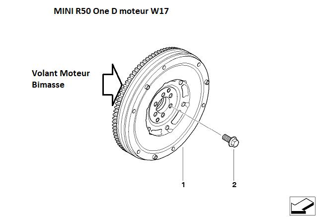 [ Mini R50 One D 1.4 88 CV an 06/ 2006 ] problème boite/embrayage. 11_34910