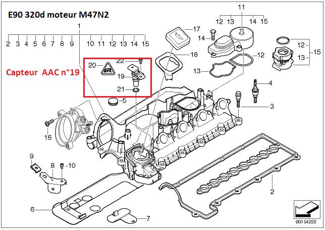 [ BMW E90 330D an 2006 ] ne démarre plus après changement volant moteur et embrayage. 11_36610